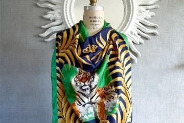 Hermes Tiger scarf
