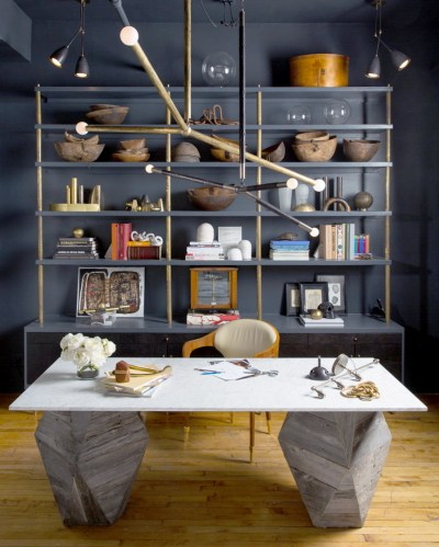 Home Office Ideas Chic   VT Home