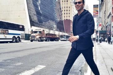Jesse Garza Vince Spring 2016 men's street style
