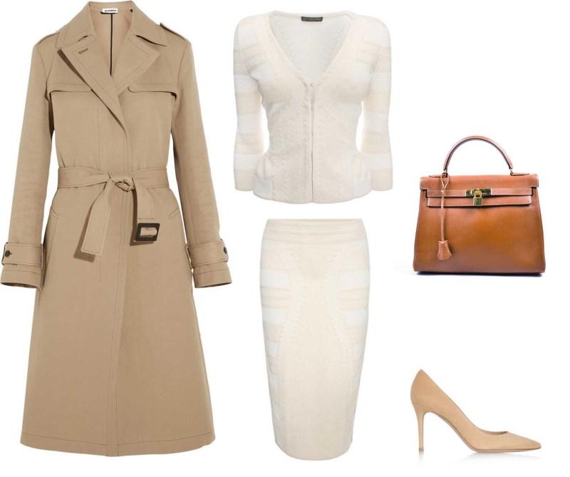 Mcqueen skirt suit