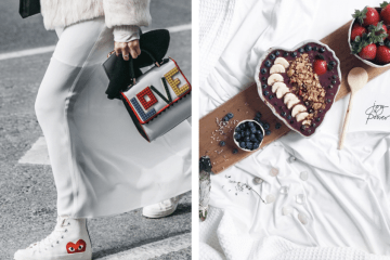 fashion street style and food