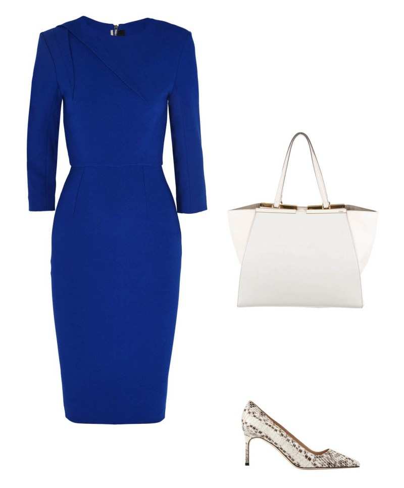 Roland Mouret dress office look