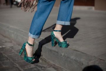 Snakeskin Sandals