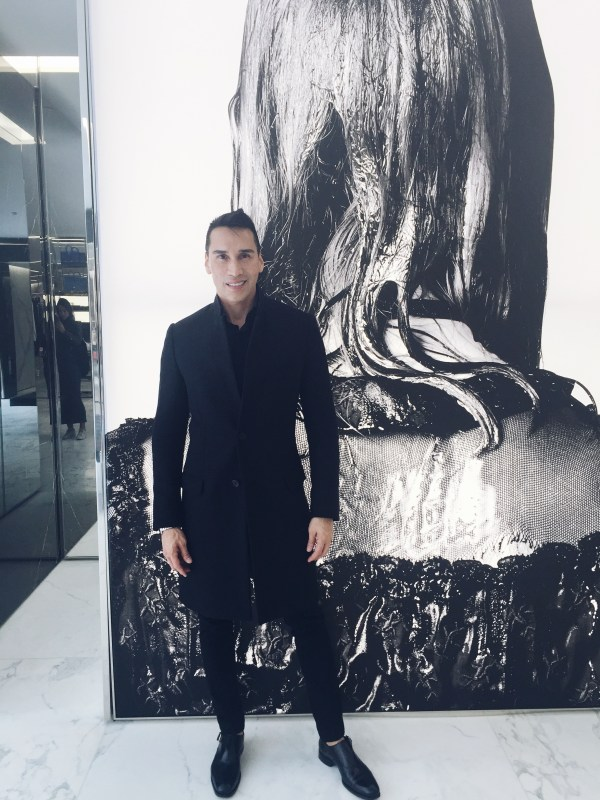 Jesse Garza Saint Laurent Boutique NYC