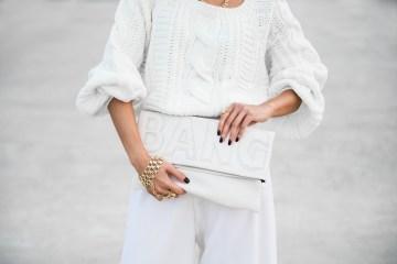 White Spring Handbag