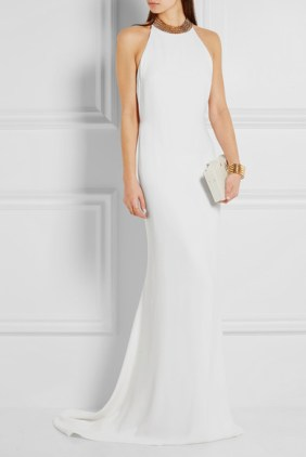 Prabal Gurung white gown