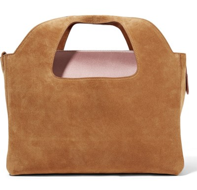 The Row Two For One Suede Tote