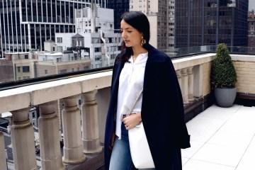 Gabriela Rocha White shirt cropped jeans fashion stylist