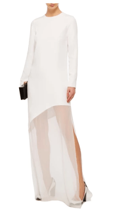 Stella McCartney white gown