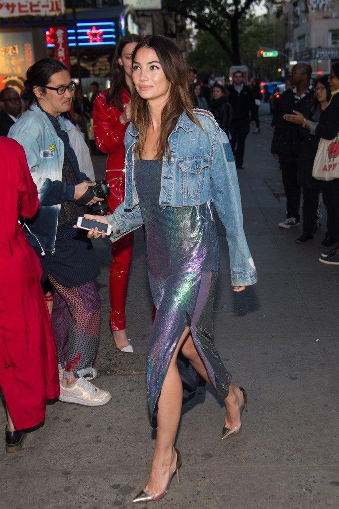 Lily Aldridge Street Style