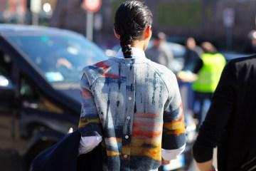 Tie dye street style