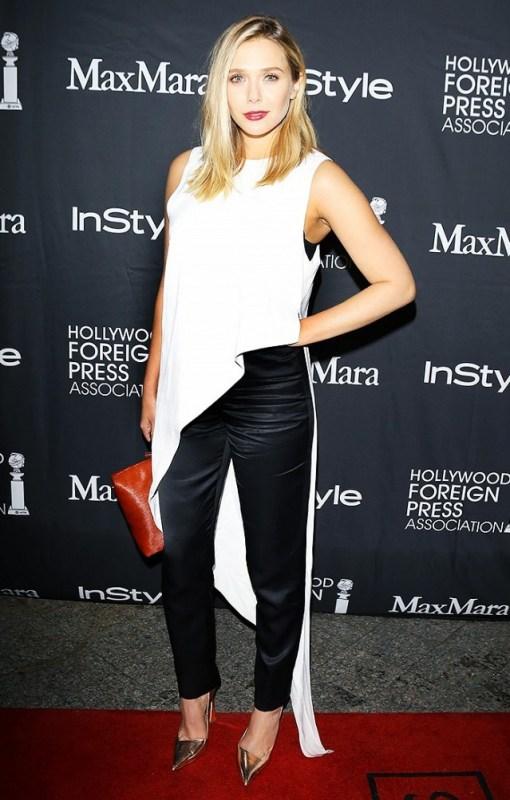 Elizabeth Olsen tunic