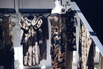 J. Mendel Fall 2016 Couture Preview visual therapy