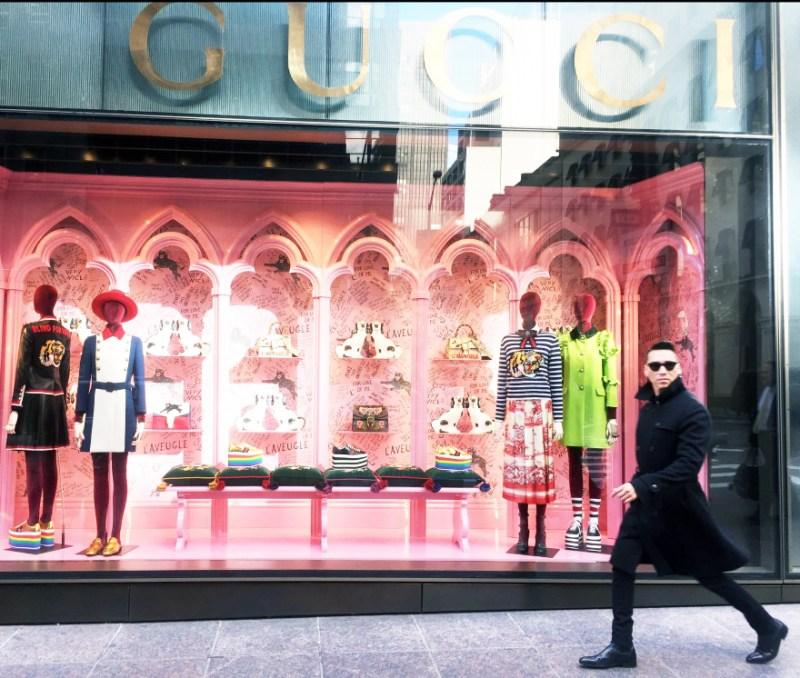 Jesse Garza Gucci Boutique