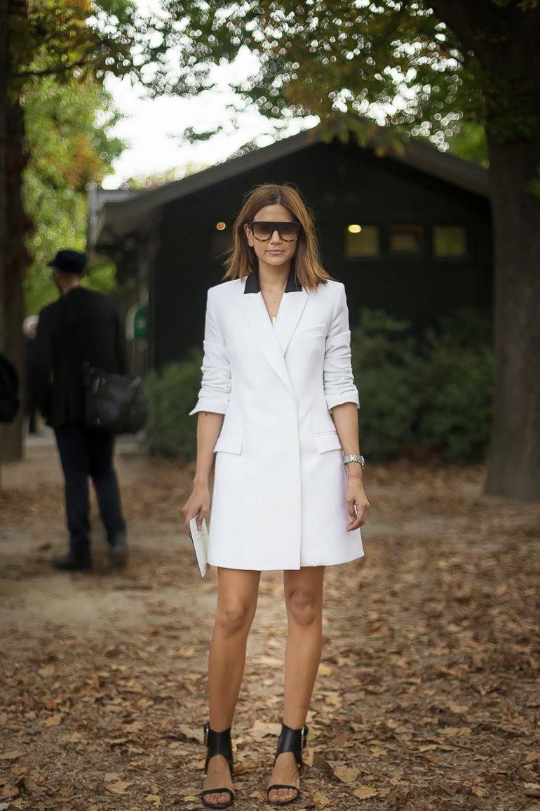 Christine Centenera White Dress