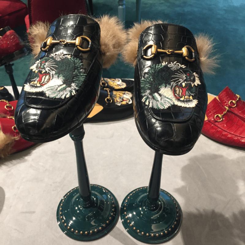 gucci diy shoes