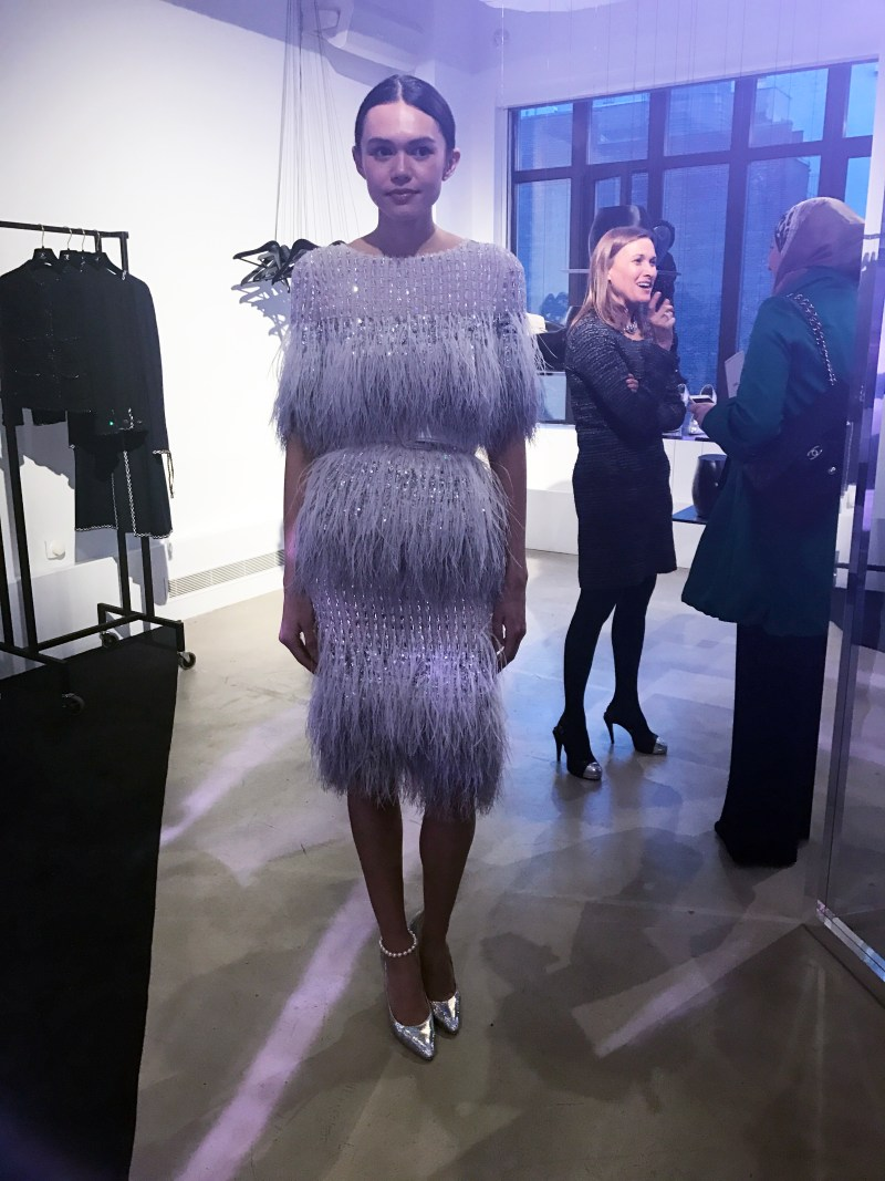 chanel spring summer couture preview in nyc
