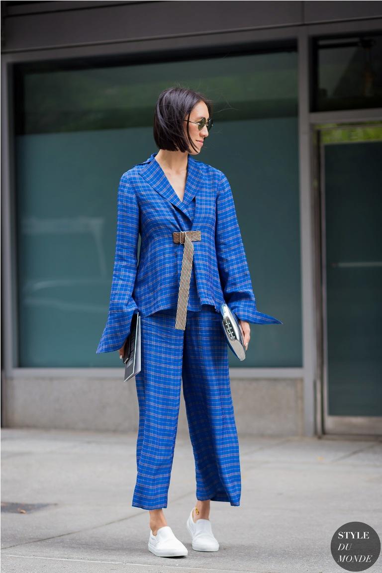 Eva Chen street style