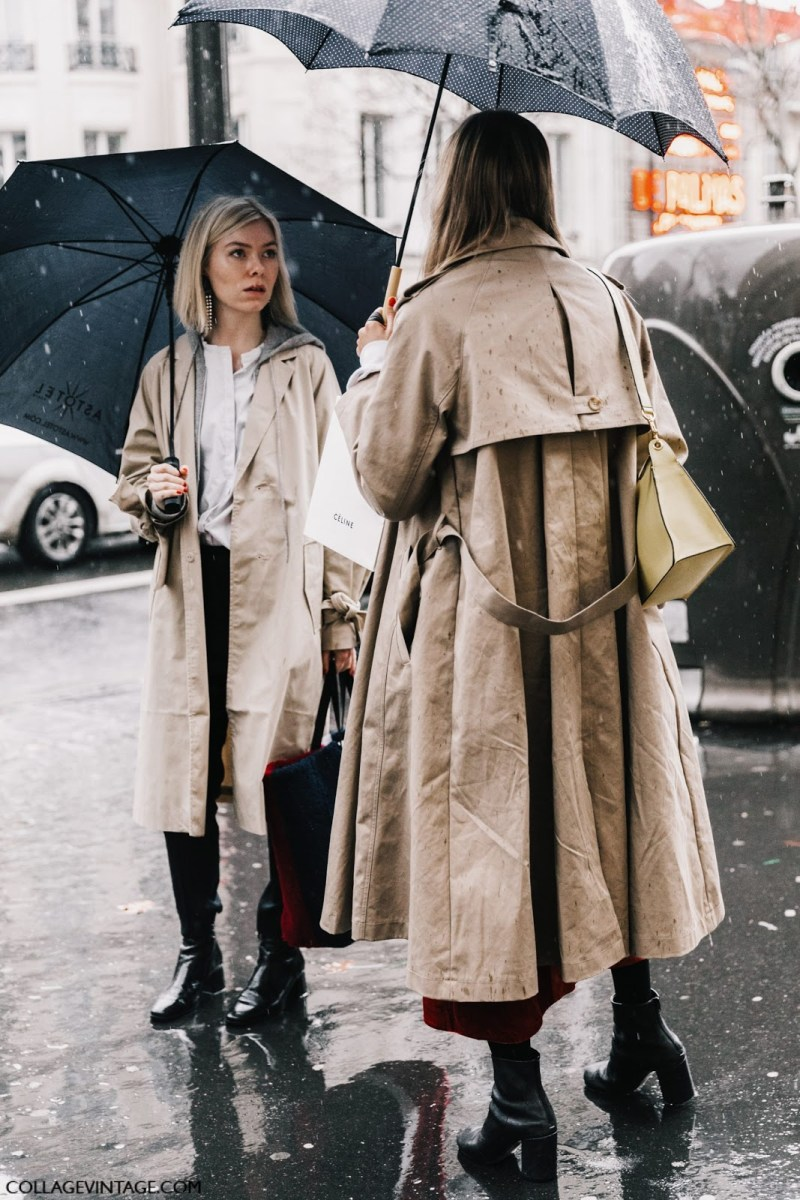 Visual therapy's prediction for spring 2017 capsule collection - trench coat