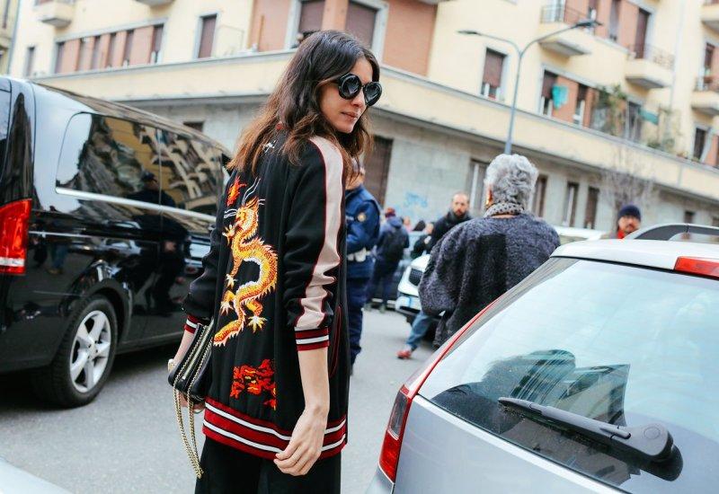 statement jacket street style