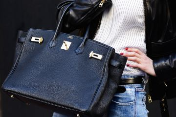 hermes bag street style