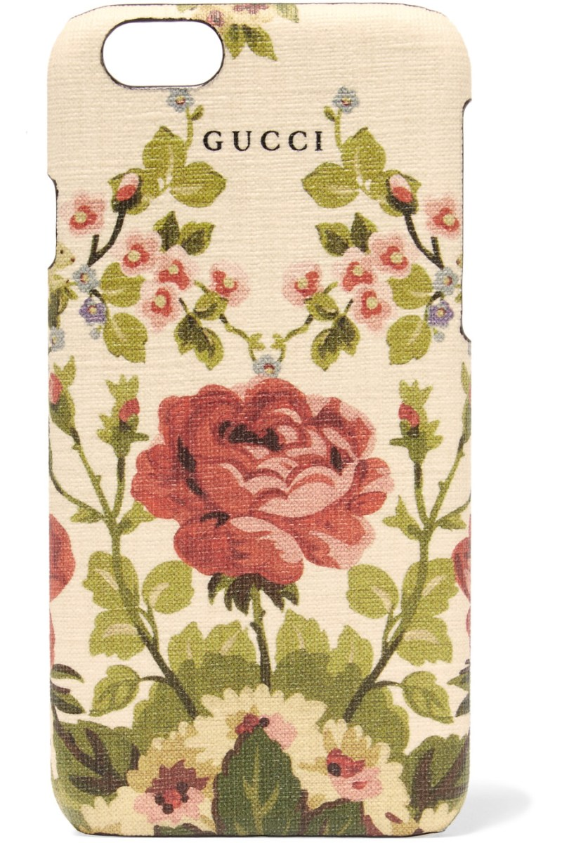 Floral gucci phone case