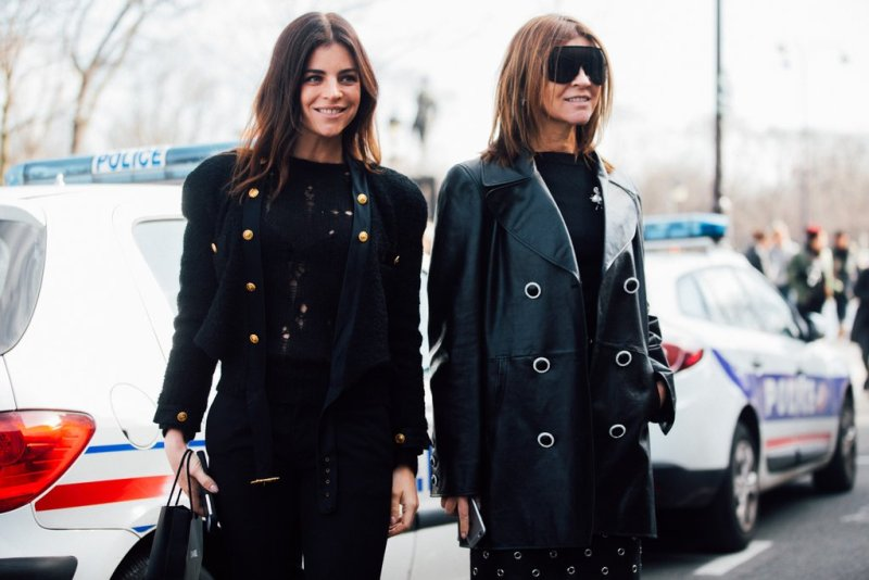 caroline and daughter street style