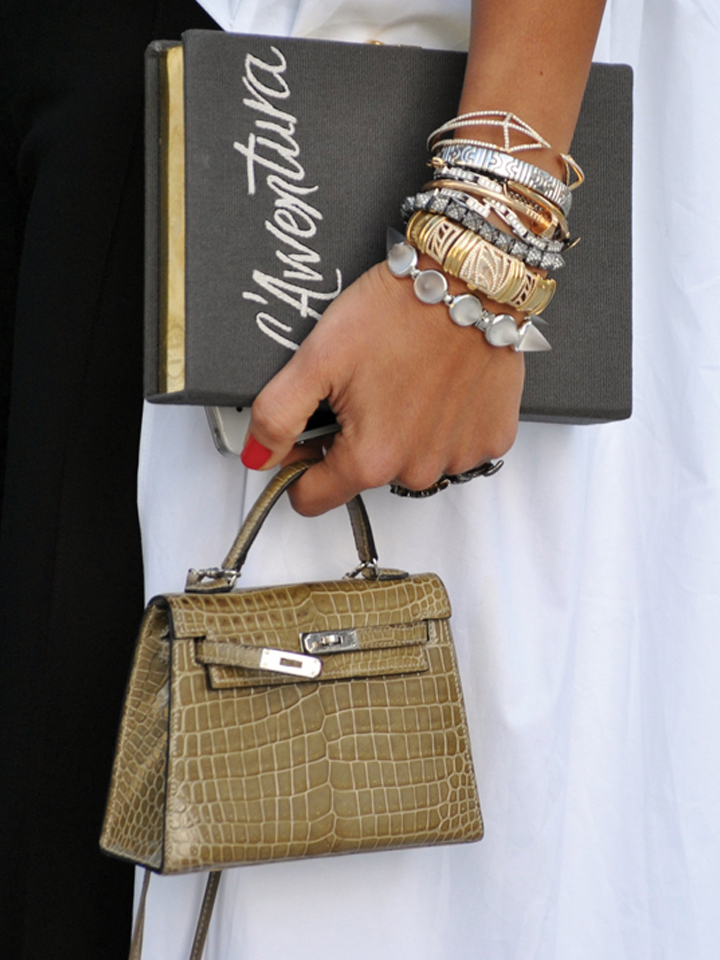 Mix Metals Street style