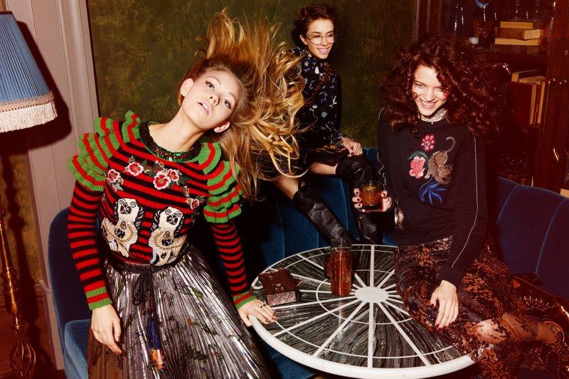 Holiday fashion editorial