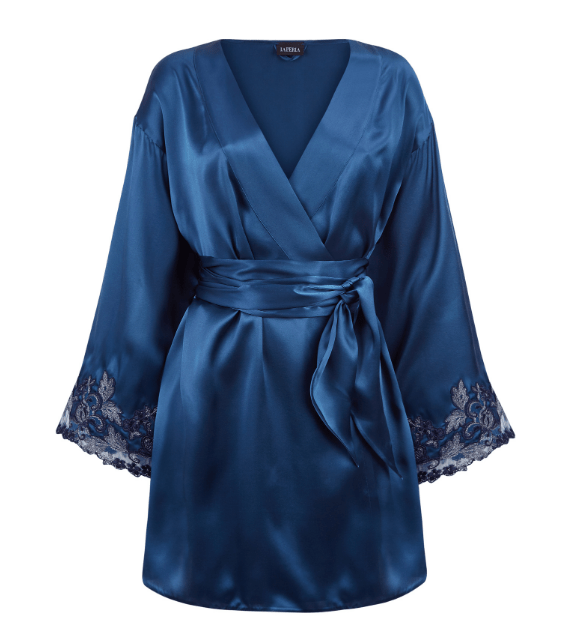 La Perla Blue Robe