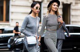 Knit Set street style
