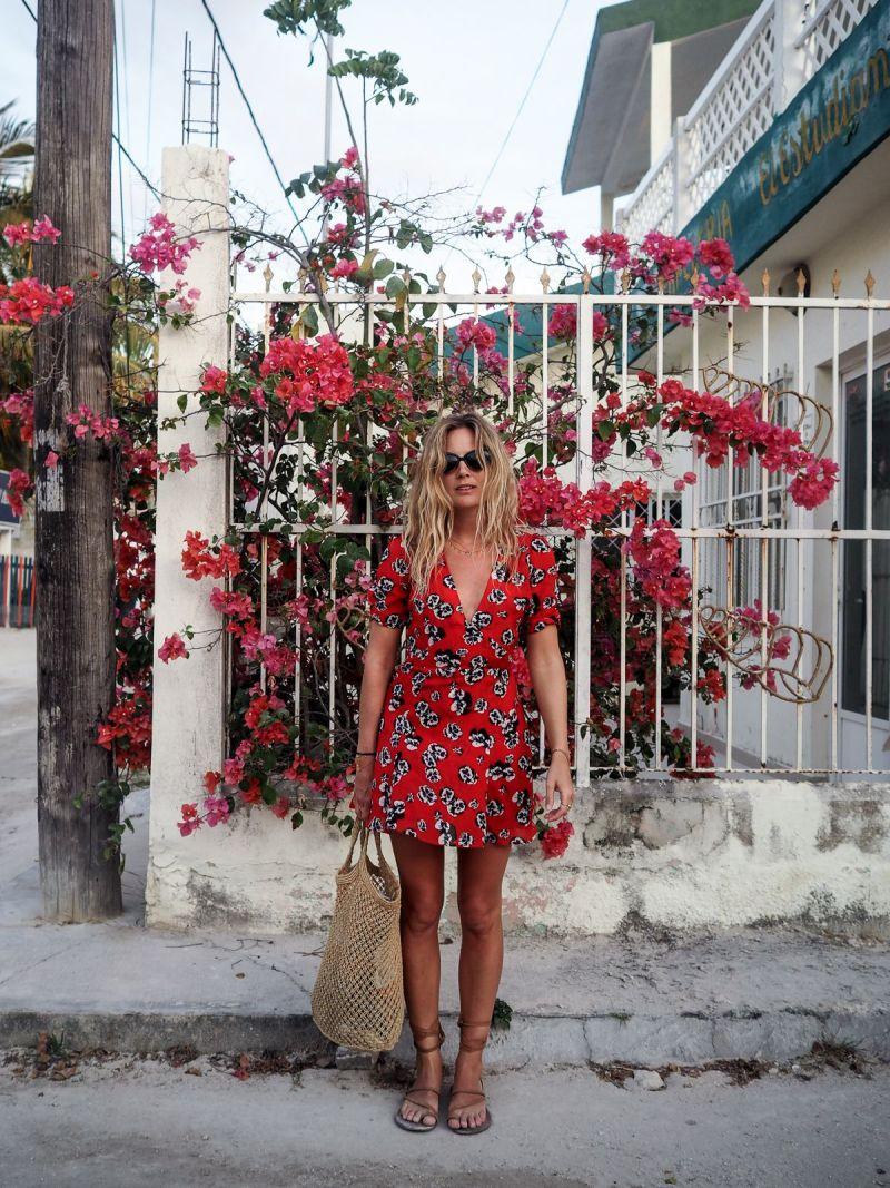 vacation dress street style