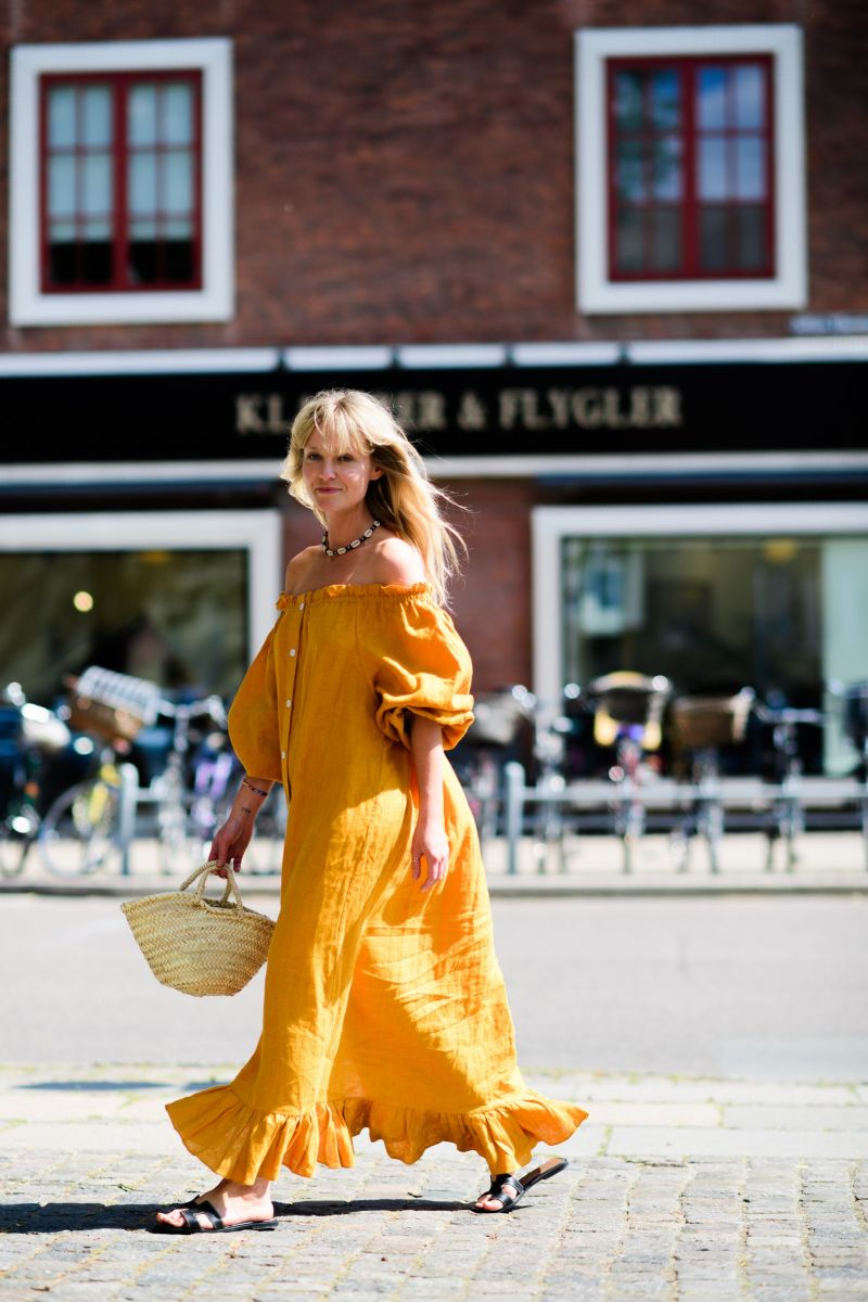 Kaftan cover up street style