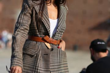 Visual Therapy: Belted Blazer