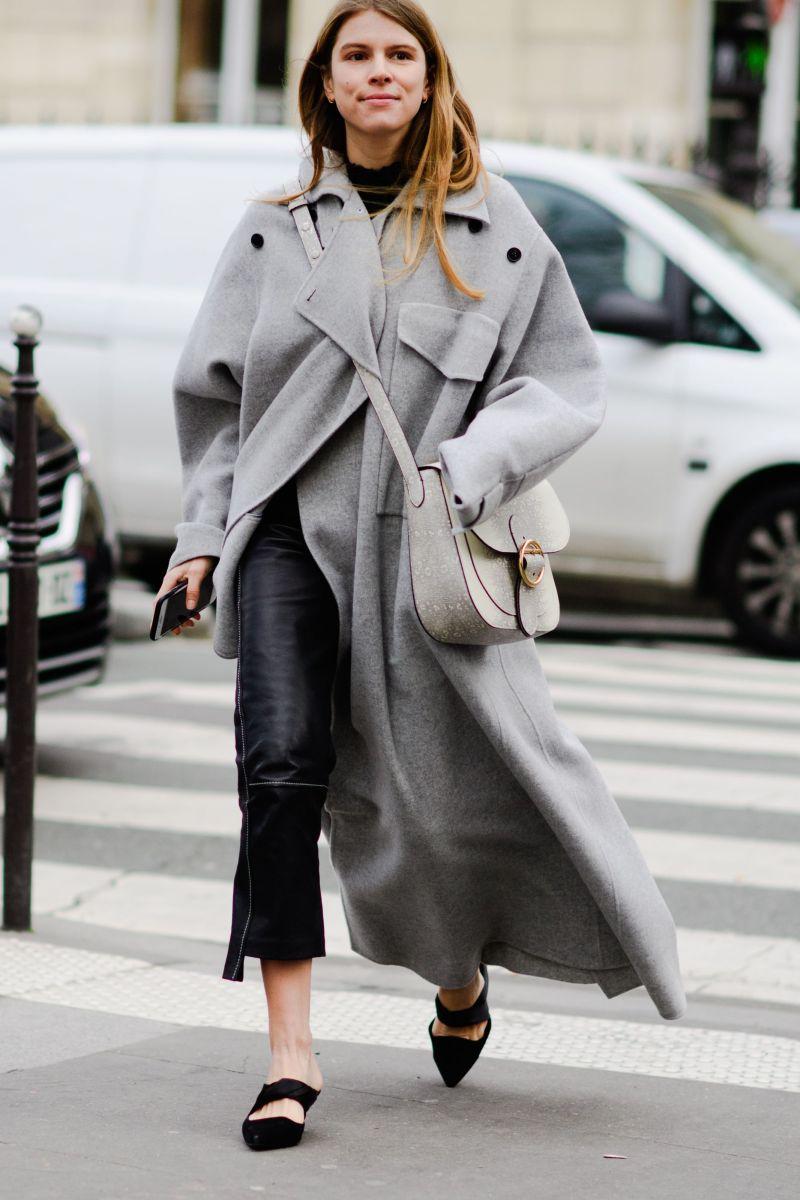 long coat street style