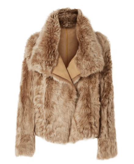 Yves salomon shearling jacket