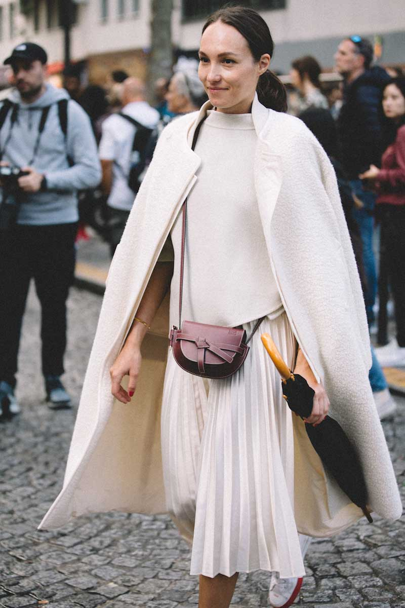 Visual Therapy: Neutral Styling at PFW