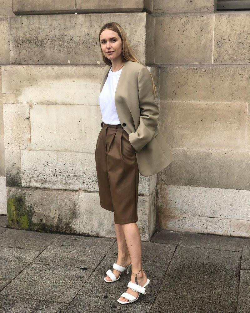 Pernille Teisbaek shorts street style