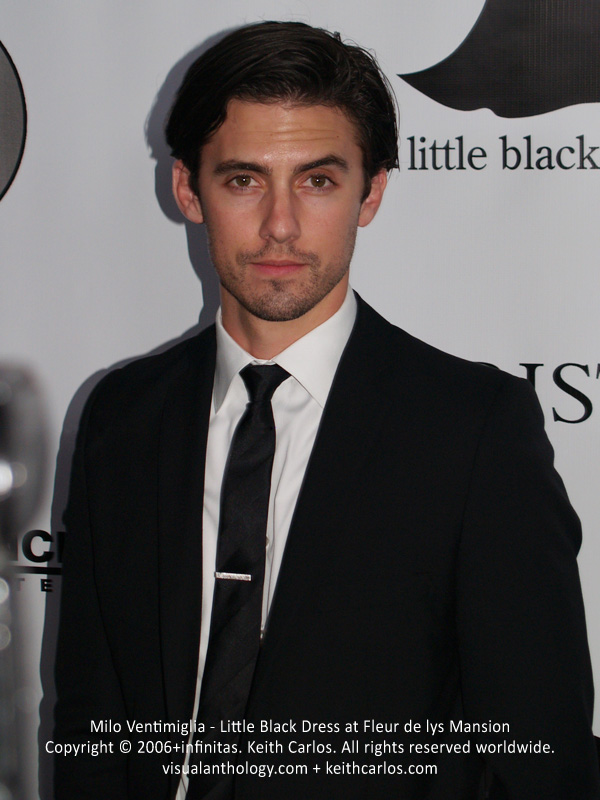 Milo Ventimiglia - Little Black Dress at Fleur de lys Mansion - circa 2006 - Copyright © 2006+infinitas. Keith Carlos. All rights reserved worldwide. visualanthology.com + keithcarlos.com