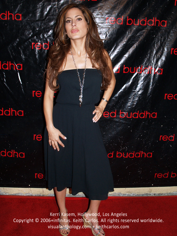 Kerri Kasem - Red Buddha 1 Year Anniversary, Hollywood, Los Angeles, California - Copyright © 2006+infinitas. Keith Carlos. All rights reserved worldwide. visualanthology.com + keithcarlos.com