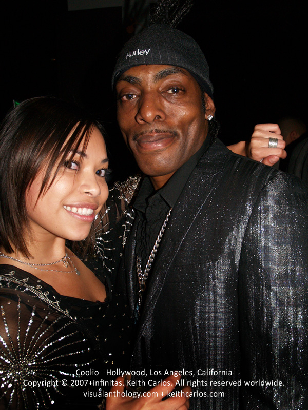 Coolio - Hollywood, Los Angeles, California - circa 2007 - Copyright © 2007+infinitas. Keith Carlos. All rights reserved worldwide. visualanthology.com + keithcarlos.com
