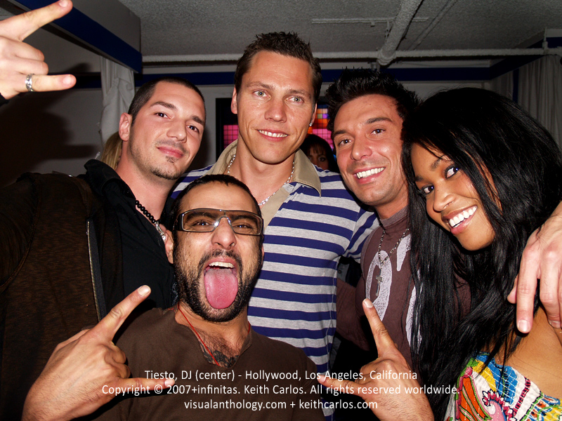 Tiesto, DJ - EDM Electronic Dance Music Progressive House, Hollywood, Los Angeles, California - Copyright © 2007+infinitas. Keith Carlos. All rights reserved worldwide. visualanthology.com + keithcarlos.com