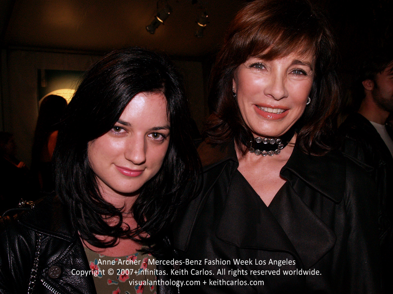 Anne Archer - Privileged, Ghost Whisperer, The L Word, Boston Public, Fatal Attraction, Patriot Games, Clear and Present Danger, Mercedes-Benz Fashion Week 2007 October, Los Angeles, California - Copyright © 2007+infinitas. Keith Carlos. All rights reserved worldwide. visualanthology.com + keithcarlos.com