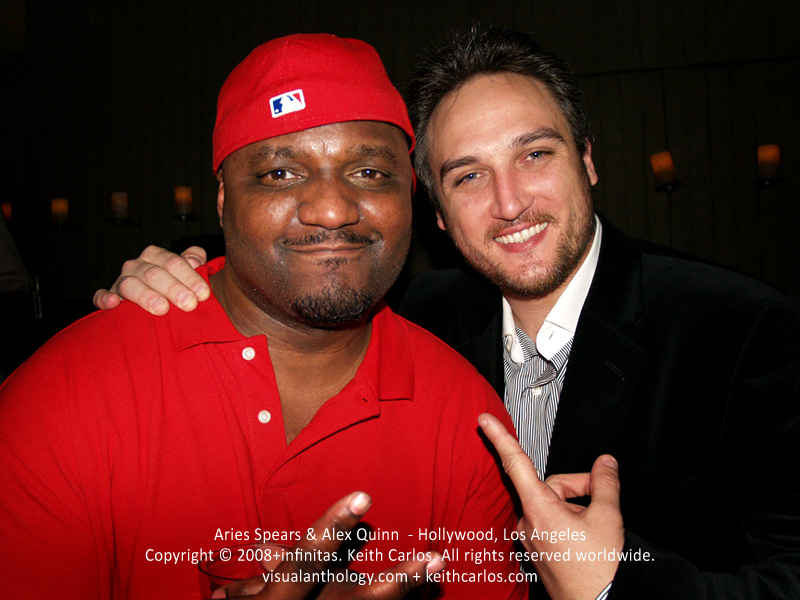 Aries Spears & Alex Quinn - Hollywood, Los Angeles, California - Copyright © 2008+infinitas. Keith Carlos. All rights reserved worldwide. visualanthology.com + keithcarlos.com