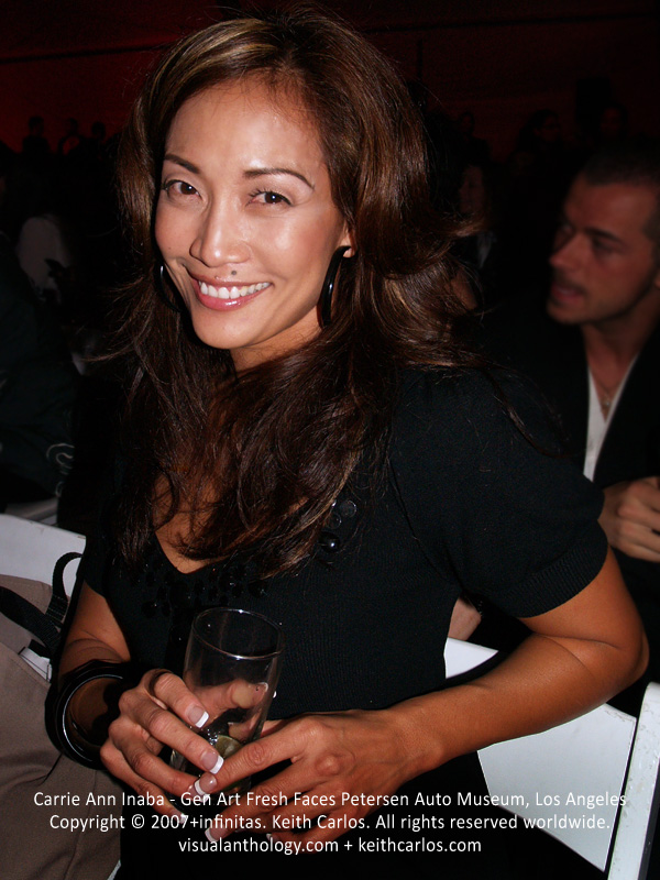 Carrie Ann Inaba - Dancing with the Stars Judge, Gen Art Fresh Faces at the Petersen Automotive Museum, Los Angeles, California - Copyright © 2007+infinitas. Keith Carlos. All rights reserved worldwide. visualanthology.com + keithcarlos.com