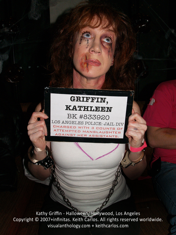 Kathy Griffin - Halloween, Hollywood, Los Angeles, California - Copyright © 2007+infinitas. Keith Carlos. All rights reserved worldwide. visualanthology.com + keithcarlos.com