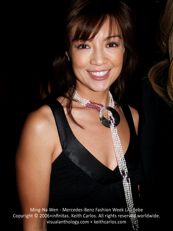 Ming-Na Wen - Marvel's Agents of S.H.I.E.L.D., Eureka, SGU Stargate Universe, ER, Mercedes-Benz Fashion Week 2006 October, Collection Bebe Fashion Show, Los Angeles, California - Copyright © 2006+infinitas. Keith Carlos. All rights reserved worldwide. visualanthology.com + keithcarlos.com