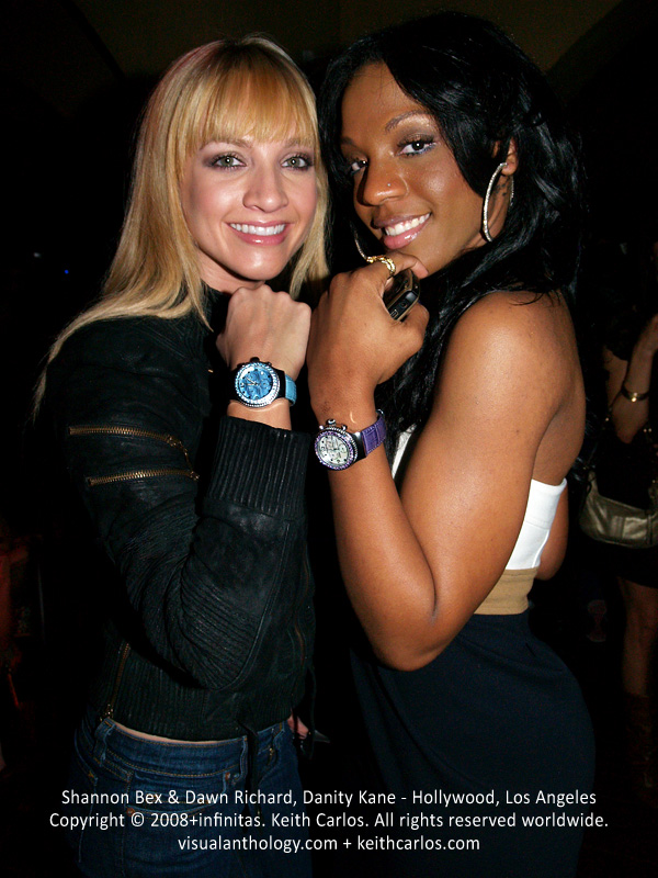 Shannon Bex & Dawn Richard, Danity Kane - Hollywood, Los Angeles, California - Copyright © 2008+infinitas. Keith Carlos. All rights reserved worldwide. visualanthology.com + keithcarlos.com