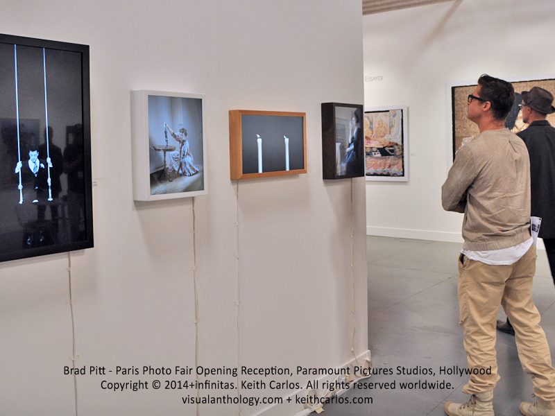 Brad Pitt - Paris Photo Fair Opening Reception, Paramount Pictures Studios, Hollywood, Los Angeles, California - Copyright © 2014+infinitas. Keith Carlos. All rights reserved worldwide. visualanthology.com + keithcarlos.com