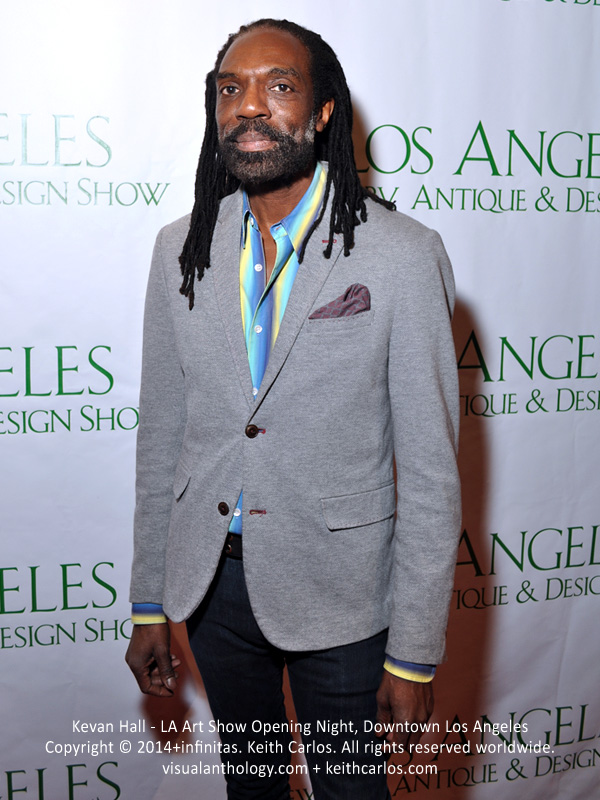 Kevan Hall - Fashion Designer; LA Art Show Grand Opening Night Press Reception Party, Convention Center Downtown LA, Los Angeles, California - Copyright © 2014+infinitas. Keith Carlos. All rights reserved worldwide. visualanthology.com + keithcarlos.com